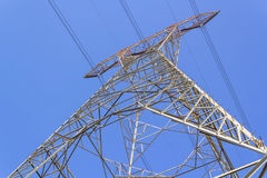 Hight voltage tower Stock Photo