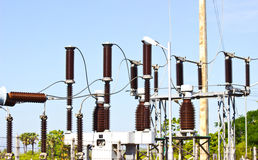 Hight voltage Stock Photo