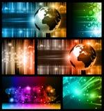 Hightech-abstrakte Geschäfts-Hintergründe Stockfoto