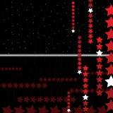 Hightech- abstrakter Hintergrund mit Sternen. Vektor. Stockfoto