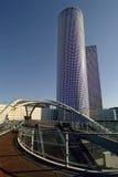 Hightech- Ansicht über Tel Aviv Stockbild