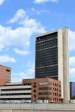 Hightech- Artgebäude Lizenzfreie Stockbilder