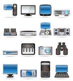 Hightech- Ausrüstung lizenzfreie abbildung