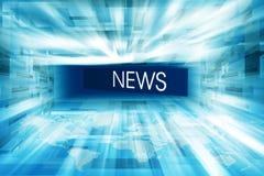 Hightech- beiliegende Nachrichten-Studio-Hintergrund-Konzept-Reihe 04 vektor abbildung