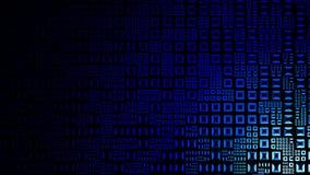 Hightech- blauer Hintergrund Lizenzfreies Stockbild