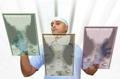 Hightech doctor Royalty Free Stock Photos