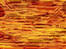 HIGHTECH- ELEKTRONISCHE INDUSTRIE-TECHNOLOGIE-HINTERGRUND vektor abbildung