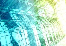 Hightech- Gebäudedetails Lizenzfreies Stockbild