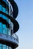Hightech- Gebäude Stockfoto