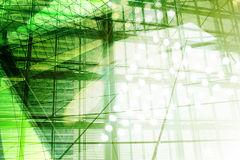 Hightech- Hintergrund Lizenzfreies Stockbild