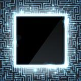 Hightech- Hintergrund vektor abbildung
