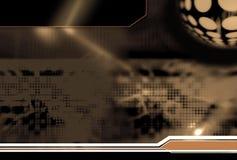 Hightech- Hintergrund. Stockfotos
