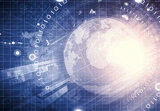 Hightech- Hintergrund Lizenzfreies Stockfoto