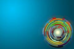 Hightech- Hintergrundauslegung Abstrakter Technologie-Hintergrund Lizenzfreies Stockbild
