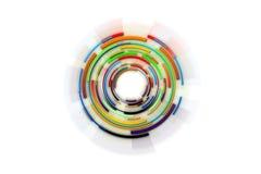 Hightech- Hintergrundauslegung Abstrakter Technologie-Hintergrund Circl Stockfotos