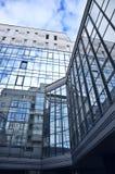 Hightech- moderner Hintergrund Stockfoto