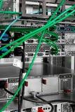 Hightech- Netzkabel stockbilder