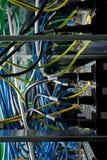 Hightech- Netzkabel lizenzfreies stockbild