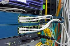 Hightech- Netzkabel lizenzfreie stockbilder