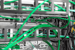 Hightech- Netzkabel stockfoto