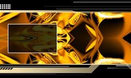 Hightech- Schablone Lizenzfreies Stockfoto
