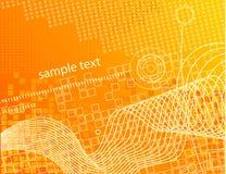 Hightech- Tapete. Lizenzfreie Stockbilder