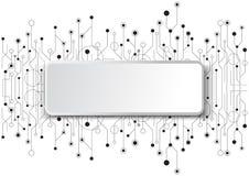 Hightech- Technologie geometrisch lizenzfreie stockbilder