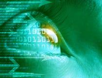 Hightech- Technologiehintergrund Lizenzfreie Stockfotografie
