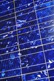 hightech technologii słonecznej komórek Obrazy Royalty Free