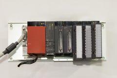 Hightech- und moderne Ausrüstung automatischer programmierbarer Logik-Prüfer PLC mit Modulumwandlungsadapter für industrielles stockbilder