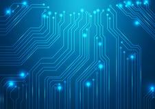 Hightech- Vektorhintergrund Stockbild
