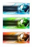 Hightech- Visitenkarte- oder Web-Vorsatz lizenzfreie abbildung