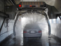 HighTech Wash. High pressure car wash Stock Images