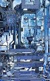 Hightechhintergrund Lizenzfreies Stockfoto
