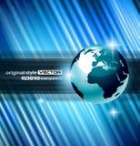Hightechs-abstrakter Geschäfts-Hintergrund Stockfoto