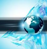 Hightechs-abstrakter Geschäfts-Hintergrund Stockfotografie