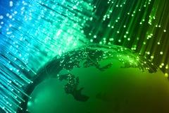 Hightechstechnologiehintergrund Stockbild