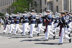 Highty âTichties de RegimentsBand.    Stock Afbeeldingen