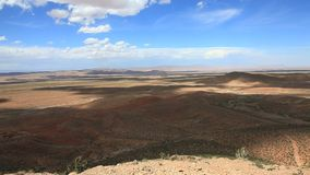 Highview at atlas mountain. In morocco stock video footage