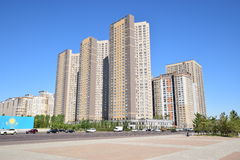 HIGHVILL residential buildings in Astana Stock Photo