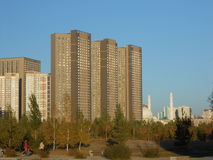 HIGHVILL residential buildings in Astana Royalty Free Stock Photo
