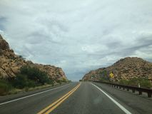 Highway1 ΗΠΑ στοκ εικόνα