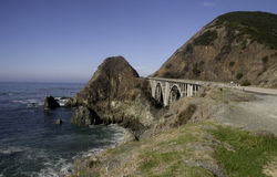 Highway 1 Bridge royalty free stock photos