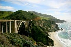 Highway 101. Drive along the coastal HWY 101, California Royalty Free Stock Photography