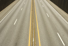 Highway. Image taken of a highway from a bridge Stock Photography