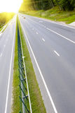 Highway. Royalty Free Stock Photography