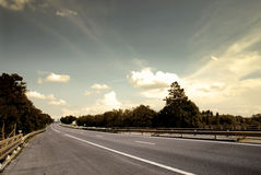Highway Royalty Free Stock Photo