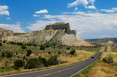 Highway 12. Utah royalty free stock image