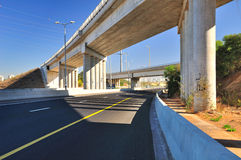 Highway 4. Israel. Royalty Free Stock Photography