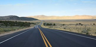 Highway 50 in Utah. Highway 50 (The Loneliest Road) in Utah American Southwest Royalty Free Stock Photos